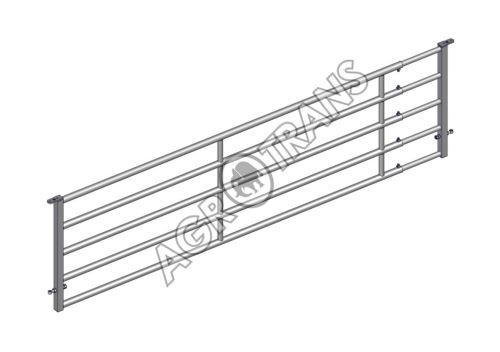Nastavitelná dělící zábrana EX5 4/5m