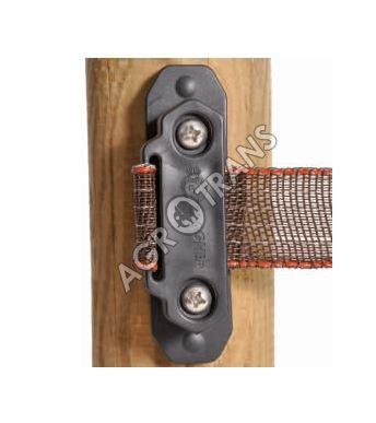 Izolátor koncový, rohový na pásku 40 mm