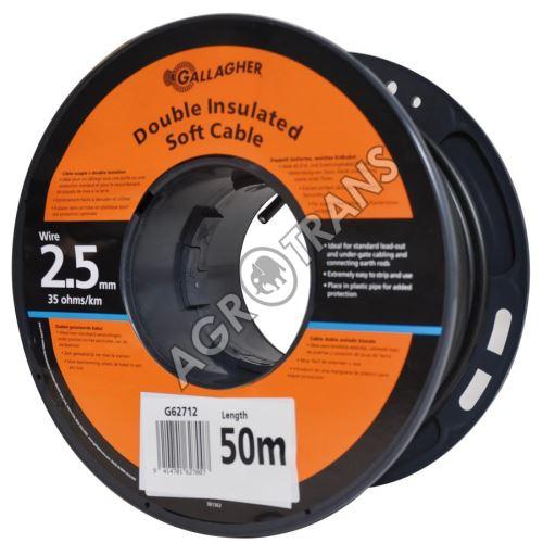 Podzemní prop. kabel 2.5mm 2izolace 50m
