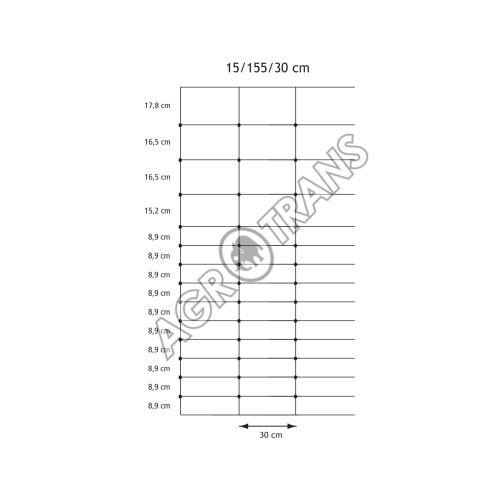 Pletivo Cyclone® 15/155/30