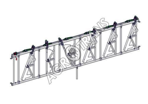 SAFETY žlabová zábrana 6 míst, délka 4,40m