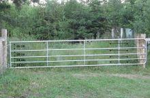 Pastvinová brána kovová 90 cm - nastavitelná