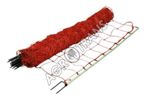 Vodivá síť pro kozy, výška 105 cm, délka 50 m, 2 hroty