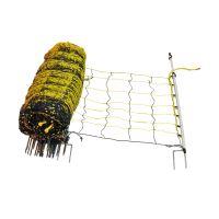 Vodivá síť pro ovce/ ochrana proti vlkům, výška 120 cm, délka 50 m, 2hroty - MODRÁ