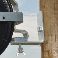 Úchyt na kovové/dřevěnné sloupky pro cívku ECONOREEL