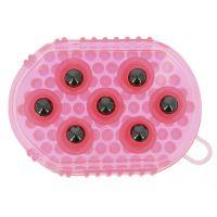 Hřbílko masážní kuličkové - růžové
