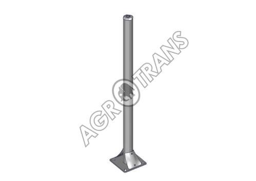 Sloupek OCTAGONAL na platli, prům.76mm, délka 130cm