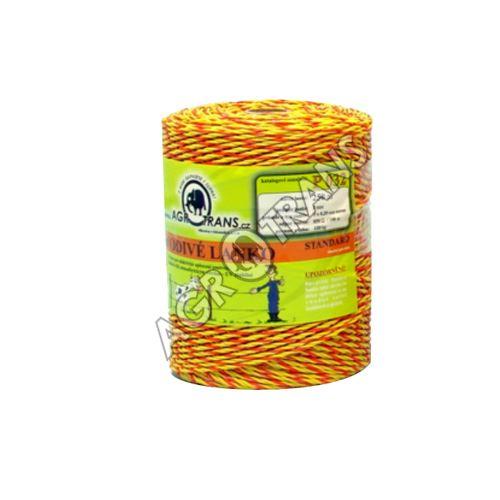 Lanko splétané 3vodiče - 250m, žluto/oranžové
