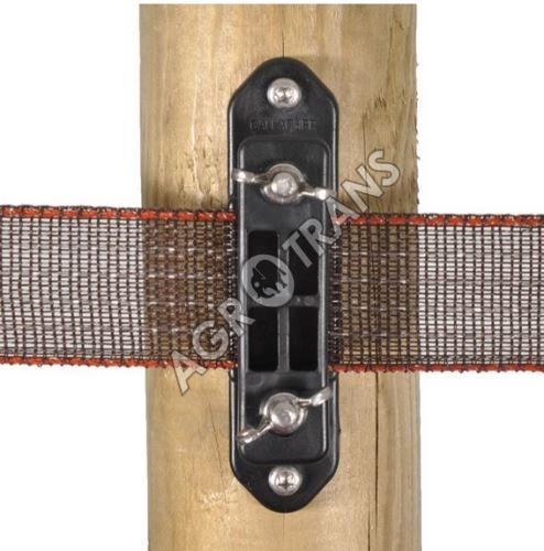 Izolátor koncový na pásku 40 mm, 2 vruty