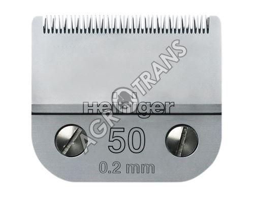 Stříhací hlava Heiniger č.50 – 0,2mm, VET kočky