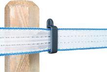 Izolátor na pásku do 40mm sklipsem+vrut, 100 ks/kbelík