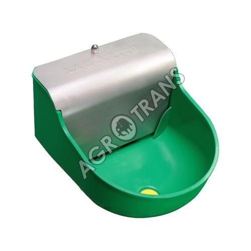 LAC 10 - hladinová napáječka plastová s nerezovým krytem