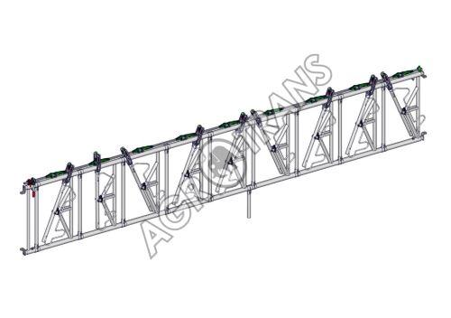 SAFETY žlabová zábrana 9 míst, délka 6 m