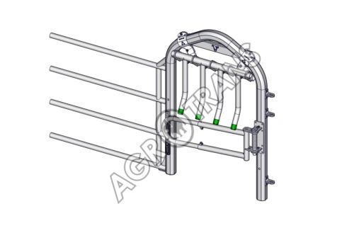 Výsuv panelu EX4, s prstovou a jednoduchou jednosměrnou brankou
