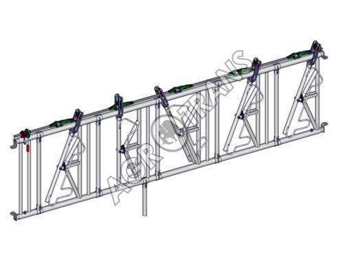 SAFETY žlabová zábrana 5 míst, délka 4 m