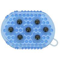 Hřbílko masážní kuličkové - modré