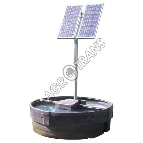 Solar - Flow 1500L - 12V - napáječí žlab se solárním panelem