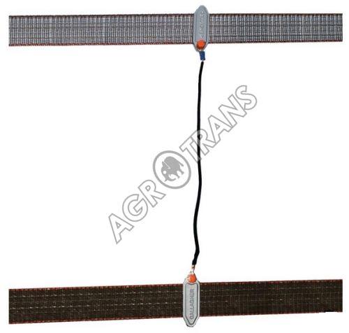 Propojovací kabel na pásku 40 mm oboustr. kov.