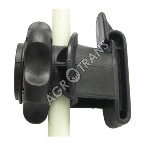 Izolátor na sklolaminátovou tyč - pro uchycení pásky