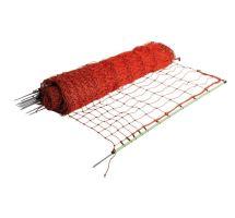 Vodivá síť pro drůbež, výška 112cm, délka  50m, 1hrot