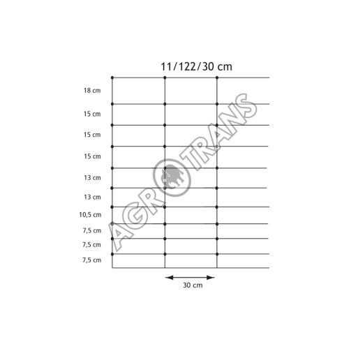 Pletivo Hampton  X-NET™  11/122/30