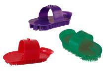 Hřbílko plastové masážní mini různé barvy