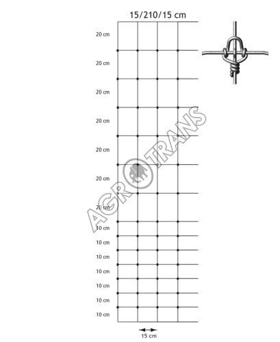 Pletivo Cyclone® 15/2100/150