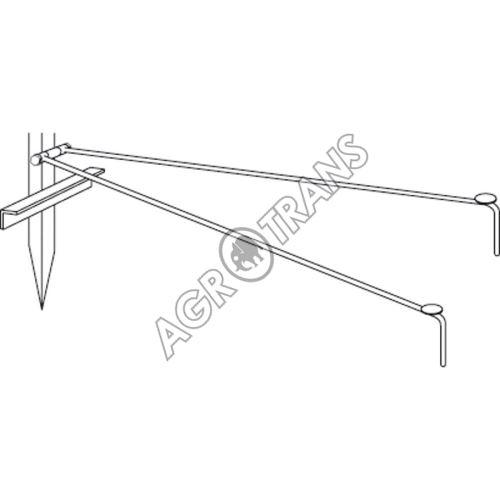 Opěrná dvounožka 100cm  pro stabilizaci P1890 a P 1891