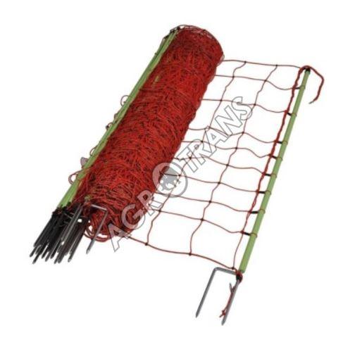 Vodivá síť pro ovce/ ochrana proti vlkům, výška 120 cm, 2 hroty