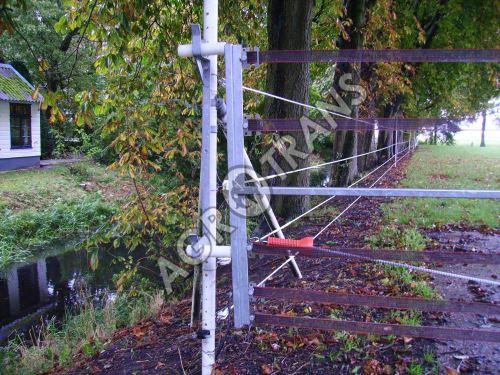 Brána elektifikovaná stavitelná 2,5-4m