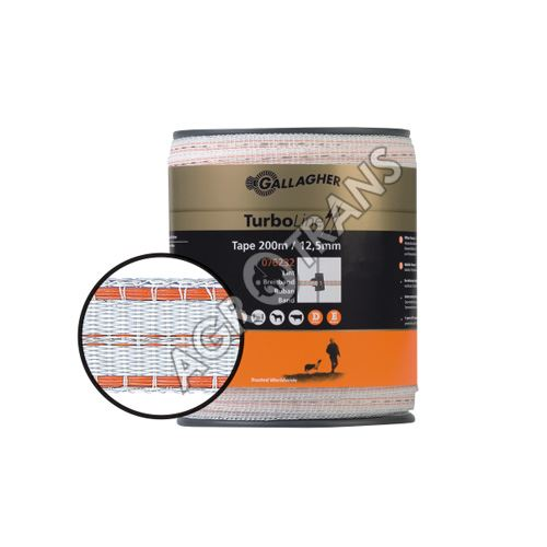 Vodivá páska 12,5mmTURBO 5vodičů 200m, b/o
