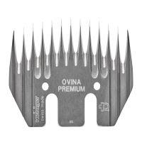 Stříhací hřeben OVINA PREMIUM- Heiniger, šíře 77mm, střední náběh