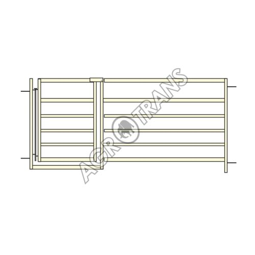 Ovčí panel jäckel 0,9 m, s brankou 0,6 m