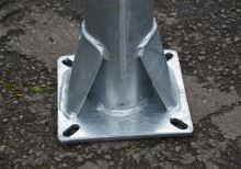Sloupek OCTAGONAL na platli, prům.102mm, délka 168cm
