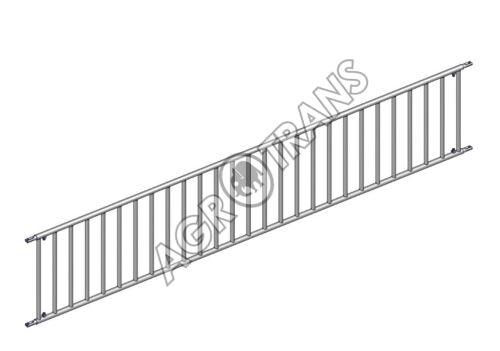 Dělící zábrana pro telata, svislé příčky, délka 4m